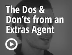 The Dos and Don'ts from an Extras Agent