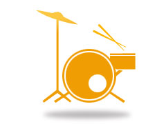 Male or female drummer wanted full time to join a function band - Guildford